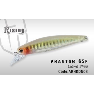 Herakles Phantom 65 F (Clown Shad)
