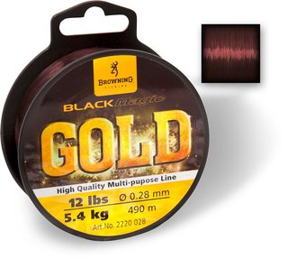 Browning Black Magic® Gold Mono - 0,23mm - 4,35kg - 610m - dunkelbraun