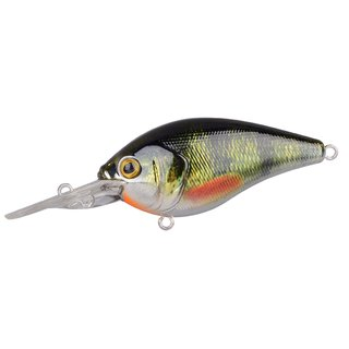 Spro Ikiru Crank 60 Floating LL - Chrome Green Perch