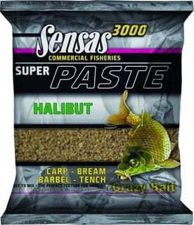 SENSAS 3000 COMMERCIAL F.PASTE HALIBUT 600G