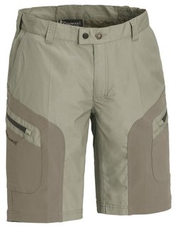 Pinewood Wildmark Stretch Shorts H.Khaki/Mid. Khaki C46
